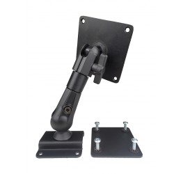 "Havis C-MD-400 Series Universal Rugged Articulating Dual Ball Mount for Tablet Devices, 7 or 10"" Tall Models Available"