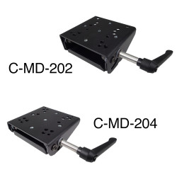 Havis C-MD-202/204 Tilt Swivel Motion Device, 45 or 90 Degrees of Vertical Tilt Movement, Designed for Keyboards and Tablet Docking Stations