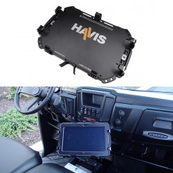 """Havis UT-2007 Custom Rugged Cradle for Apple iPad Pro 12.9"""" Tablet, Increased Vertical and Horizontal Adjustability Allows a Broader Range of Compatible Computing Devices"""