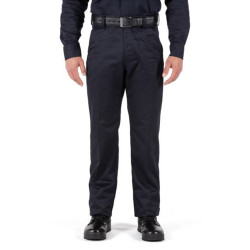 5.11 Tactical 74508 Regular Fit Company Uniform Pants 2.0, Unhemmed, 100% Cotton, Self-adjusting Waistband,  Fire Navy