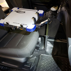Jotto-Desk 2020 Ford Police Interceptor PI Utility A-MOD Laptop Computer Stand and Mount, 425-5010/4143