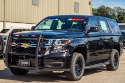 New 2020 Black Tahoe 4x4 PPV V8, ready to be built as a Slick-Top Admin Package, choose any color LEDs, 4WD, + Delivery