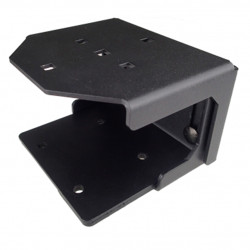Havis C-ADP-118 Pedestal Mount Low, Compatible with C-UMM-101, C-MD-202, C-MD-206 and C-MD-207 for tablet/display mounting, Height is adjustable from 3.14 inches to 5 inches