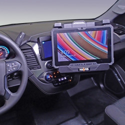 Havis C-DMM-3003 Dashboard Swing Up Monitor or Tablet Mount for 2015-2019 Chevrolet Tahoe, Includes VESA 75 hole pattern