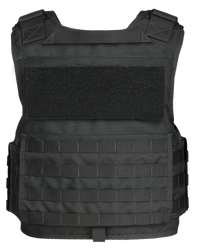 Armor Express ® OCX Men's Overt Non-Ballistic Body Armor Carrier, Front hard armor plate pockets, adjustable shoulder straps, with a drag handle the vest, Choose Carrier only or Carrier and Plates, NIJ Certified Spike-Level 1, Level 2, or Level 3