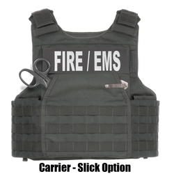 Armor Express ® Hard Core FE Men's Overt Non-Ballistic Body Armor Carrier, With front interior 5x8 plate pocket, and a Shear, Knife and Flashlight pocket-Choose Carrier only or Carrier and Plates, NIJ Certified Spike - Level 1, Level 2, Level 3