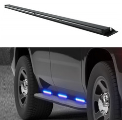 Code-3 Chevy Tahoe 2015-2020 Outliner C3RNR Perimeter Runner Board Light Bar Stick, 60 Inches, pair, fits driver and passenger side, kit