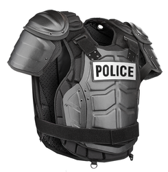 Damascus DFX2 Riot Control Kit, Police Riot Gear protects your Upper Body, Groin, Thighs, Knees and Shins, includes Aluminum Chest Plate, hard shell front and back panels, Helmet & FaceShield not included.