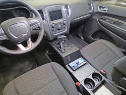 Havis 2018-2020 Dodge Durango 20 Inch Equipment Console C-VS-1800-DUR-1, accepts OEM gear shifter, includes faceplates and filler panels