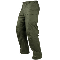 Condor Outdoor 610T Stealth Operator Pants with Low Profile Side Cargo Pockets, Elastic Waistband, Polyester/Cotton, available in Black, Olive Drab, Khaki, and Urban Green