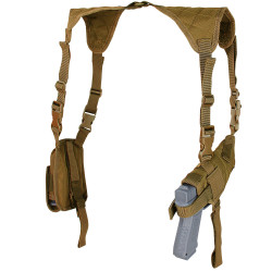 Condor USH Tactical Universal Shoulder Holster, available in Black, Olive Drab and Coyote Brown
