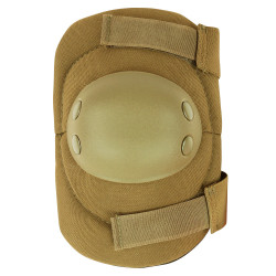 Condor EP1 Tactical Elbow Pad, Anti-Slip rubber cap, Dual Hook and Loop fastener, available in Black, Olive Drab, Coyote Brown and Tan