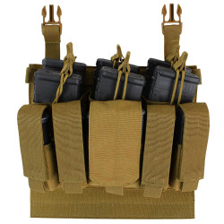 Condor 221141 VAS Tactical Recon Mag Panel, available in Black, Olive Drab and Coyote Brown