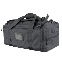 Condor 111094 Tactical Centurion Duffel Bag, Hide-away padded shoulder straps, Separated boot compartment, available in Black, Slate, Olive Drab and Coyote Brown