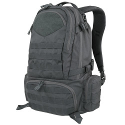 Condor 111073 Tactical Titan Assault Pack, Padded detachable waist belt, Sternum strap, Side compression straps, Hydration Pocket, available in Black, Brown, and Slate