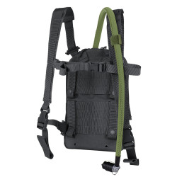 Condor 111149 LCS Tidepool Tactical Hydration Carrier, Removable shoulder straps, Sternum strap, Exterior pocket with zipper closures, available in Black, Olive Drab and Coyote Brown