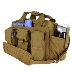 Condor 136 Tactical Response Tactical Bag, Removable padded shoulder strap, Conceal carry compartment, Removable divider, available in Black, Olive Drab and Coyote Brown