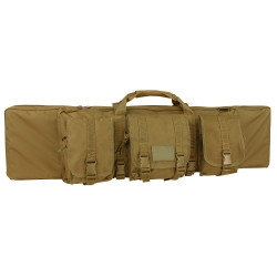Condor 128 42-inch Single Tactical Rifle Case, Padded sling strap, Sternum strap, includes 3 modular pouches, available in Black, Olive Drab and Coyote Brown