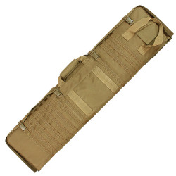 Condor 131 Sniper Tactical Shooter Mat, Detachable back straps, Hide away carrying handle and drag loops, available in Black, Olive Drab and Coyote Brown