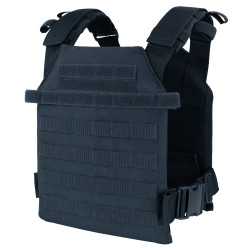 Condor 201042 Sentry Plate Carrier with Adjustable Shoulder Straps, available in Black, Olive Drab, Navy, and Coyote Brown