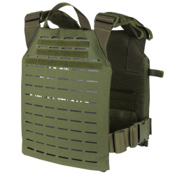 Condor 201068 LCS Sentry Plate Carrier with Adjustable Shoulder Straps, available in Black, Olive Drab, and Coyote Brown