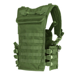 Condor CS-800 Modular Tactical Chest Set, Adjustable/Removable Tactical Chest Platform, Scorpion OCP Pattern