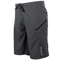Condor Outdoor 101104 Celex Workout Shorts with Two Zippered Stash Pockets, Polyester/Spandex, available in Black and Graphite