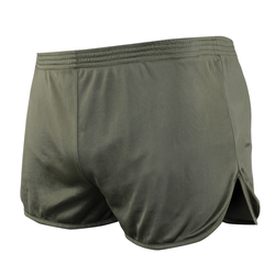 Condor Outdoor 101159 Running Shorts with Hidden Key Pocket Elastic Waistband, 100% Nylon, available in Black and Olive Drab