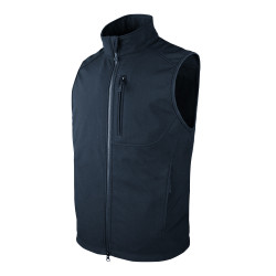 Condor Outdoor 10616 Core Softshell Vest with One Chest Pocket, 100% Polyester, available in Black and Navy