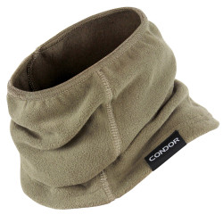 Condor Outdoor 221106 Thermo Neck Gaiter, Stretchable and Breathable Microfleece Material, available in Black, Olive Drab, and Tan