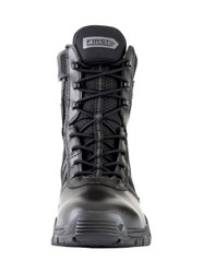 First Tactical 165014 Men's Urban Operator 7 inch Side-Zip Boots with Regular or Wide Width, Slip & Oil Resistant Outsole, Black