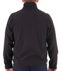 First Tactical 118503 Mens Tactix Softshell Jacket, Nylon/Spandex, Water and Wind Resistant, Midnight Navy