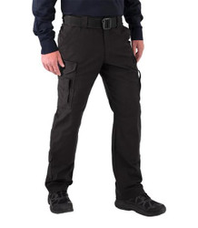First Tactical 114013 Mens V2 EMS Pants, Stretch Waist, Polyester/Cotton, available in Black and Midnight Navy