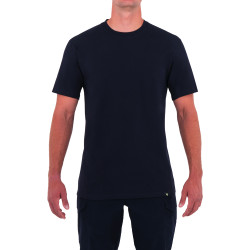 First Tactical 112501 Mens Tactix Series Cotton Short Sleeve T-Shirt, Uniform or Casual, Midnight Navy