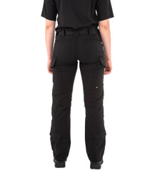 First Tactical 124013 Women' V2 EMS Pants, Polyester/Cotton, available in Black and Midnight Navy