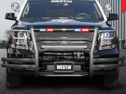 Westin Push Bar Elite-XD, Chevy Tahoe/Suburban 2015-2020, 2021+, With Optional LED Light Heads, Optional Pit Bar and Wing Wraps