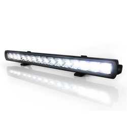 "Code 3 CW3100 Series Single Row Utility Lightbars, with polycarbonate lens, Built-in vent to prevent fogging, aluminum housing, and Beam Option, available in 9"", 20"",  or 32"" Lengths, comes with two mounting options"