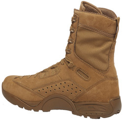 Tactical Research by Belleville ALPHA C9 Quick Reaction Force (QRF) 9 inch Lightweight Men's Hot Weather Assault Boots, Uniform/Casual, Slip and Oil Resistant, Regular or Wide Width, Coyote Brown