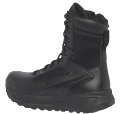Tactical Research by Belleville MAXX8Z 8 inch Men's Maximalist Tactical Side Zip Boots, Uniform/Casual, Regular or Wide Width, Black