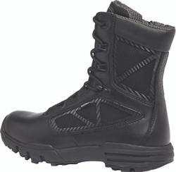 Tactical Research by Belleville TR998ZWPCT 8 inch Men's Waterproof Side Zip Composite Toe Boots, Uniform/Casual, Regular or Wide Width, Black
