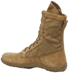 Tactical Research by Belleville TR105 8 inch Men's Lightweight Minimalist Training Boots, Uniform/Casual, Oil & Slip resistant, Regular or Wide Width, Coyote Brown