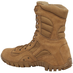 Tactical Research by Belleville TR550 8 inch Khyber Men's Hot Weather Lightweight Mountain Hybrid Boots, Uniform/Casual, Regular or Wide Width, Coyote Brown