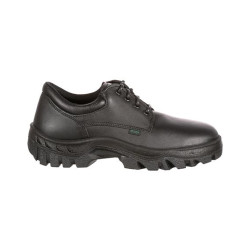 Rocky FQ0005000 Men's TMC Postal-Approved Uniform Plain Toe Oxford Shoe, Oil and Slip Resistant, available in Regular or Wide Width, Black