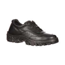 Rocky FQ0005001 Men's TMC Postal Approved Uniform Public Service Shoe, Oil and Slip Resistant, available in Extra Wide, Regular or Wide Width, Black