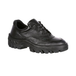 Rocky FQ0005101 Women's TMC Postal-Approved Uniform Public Service Oxford Shoe, Oil and Slip Resistant, available in Regular or Wide Width, Black