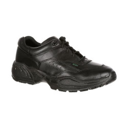 Rocky 911 FQ9111101 Men's Athletic Oxford Uniform Public Service Shoe, Oil and Slip Resistant, available in Extra Wide, Regular or Wide Width, Black