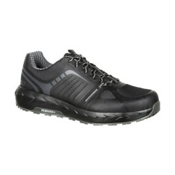 Rocky LX RKK0246 Men's Alloy Toe Uniform/Casual Athletic Work Shoe, Oil and Slip Resistant, available in Regular or Wide Width, Black