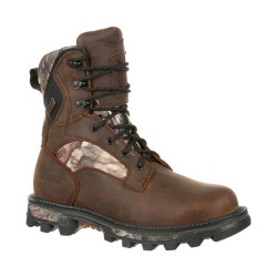 Rocky BearClaw FX RKS0399 Men's 8 Inch 800G Insulated Waterproof Mossy Oak Camo Outdoor Boots, available in Regular or Wide Width