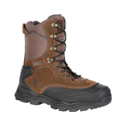 Rocky Multi-Trax RKS0417 Men's 8 Inch 800G Insulated Waterproof Outdoor Casual Boots, available in Regular or Wide Width, Brown