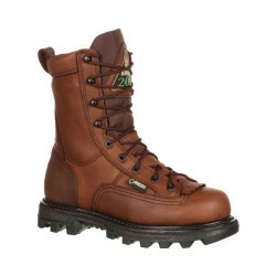 Rocky BearClaw 3D FQ0009237 Men's 9 Inch GORE-TEX® Waterproof 200G Insulated Outdoor Uniform/Casual Boots, available in Regular or Wide Width, Brown